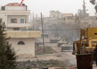 من دمشق إلى درعا:  توثيق ميداني لمعركة الجنوب