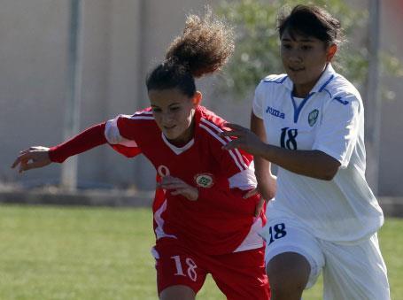 مريم شهاب:   هدافة المنتخب وأمل الكرة النسائية