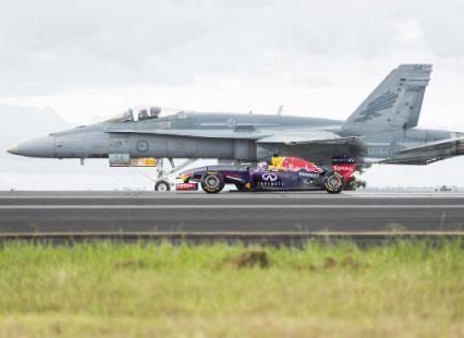الفورمولا 1 :  أقوى من سيارة وأقرب   إلى طائرة