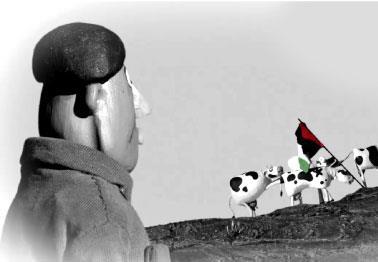 عامر الشوملي: بقرات بيت ساحور انتفضت على الاحتلال