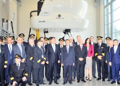 مركز تدريب الطيران  يعيد لبنان إلى الخريطة الجوية