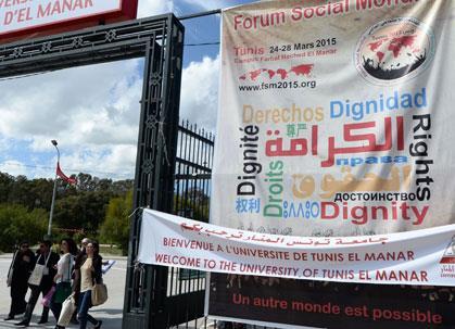 المنتدى الاجتماعي العالمي في تونس: بحثاً عن «عالم آخر ممكن»!