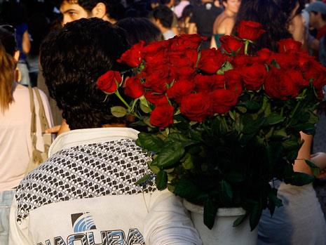 حملة بائعة الورد في صيدا