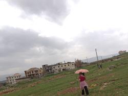 ربيع الفصح الماطر  في محمية عمّيق