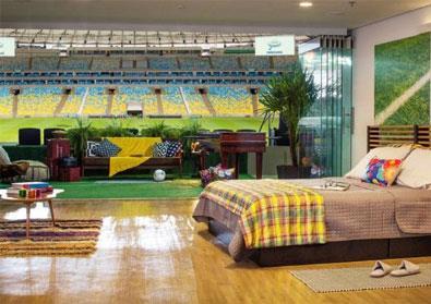 منزل في ملعب «ماراكانا»