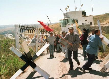معابر الشريط الحدودي: ادخلوها بسلام آمنين