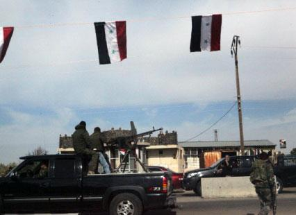 مطار الثعلة صامد والسويـداء تحشد قواها