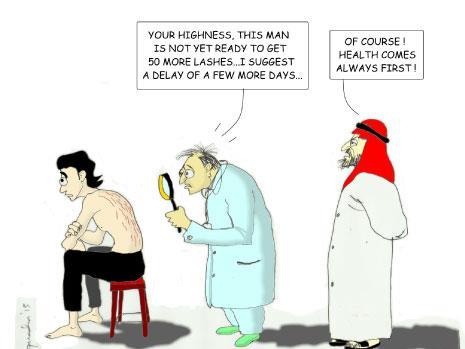 رائف بدوي: التدوين إرهاباً في مملكة الجلادين!
