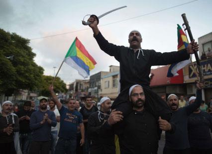 إسرائيل تبحث مع واشنطن منطقة آمنة لدروز   سوريا