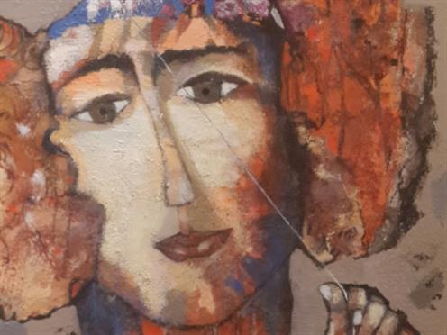 هدى بعلبكي تتصالح مع لوحاتها