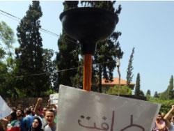 «طلعت ريحتكم» تقفل وسط بيروت