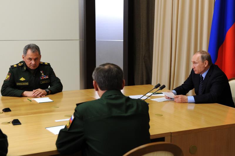 بوتين: ما زال أمام الجيش السوري الكثير مما يجب فعله (أ ف ب)