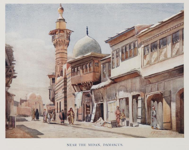 «بالقرب من الميدان» (1907)