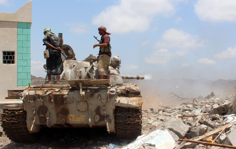 أعلن التنظيم عن نفسه في اليمن رسمياً في آب من عام 2014 (أ ف ب)