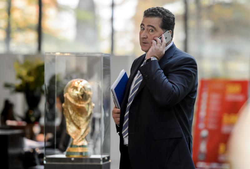 """رئيس لجنة الاستماع والمطابقة المستقلة في """"الفيفا"""" دومينيكو سكالا (فابريس كوفريني ــ أ ف ب)"""