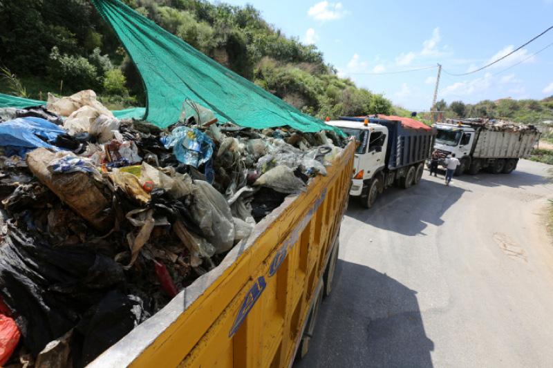 ملايين الأطنان من النفايات يجري تجميعها بطريقة غير آمنة (مروان طحطح)