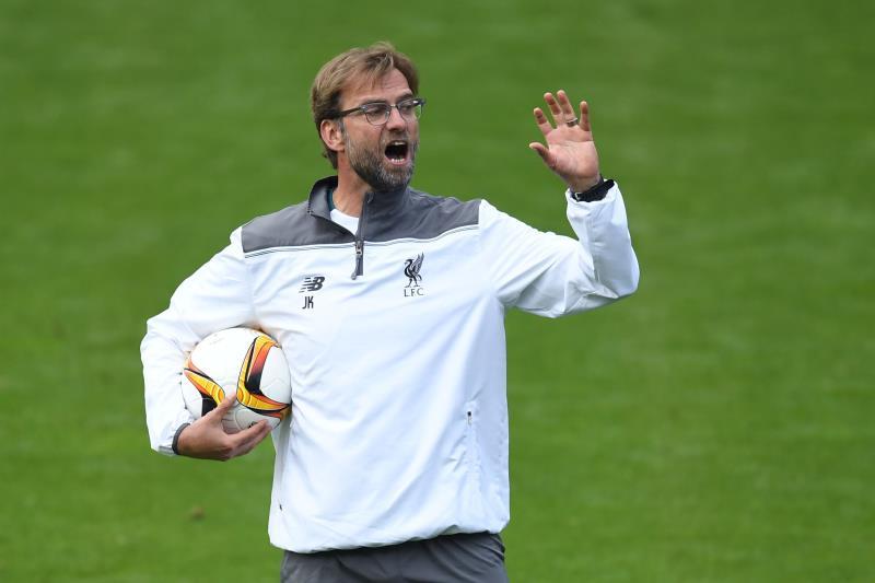 روح ليفربول في حماسة مدربه يورغن كلوب وشغفه (فابريس كوفريني - أ ف ب)