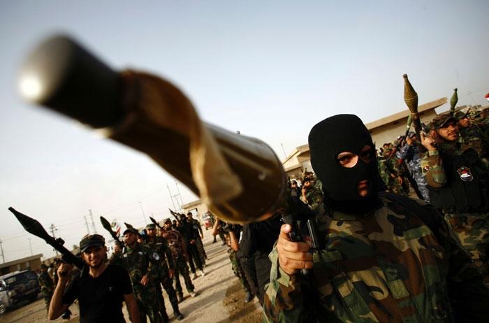 وصل أربعة آلاف مقاتل من «الحشد» إلى محاور مدينة الفلوجة