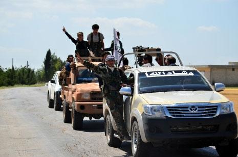 عزّز «جيش الفتح» نقاطه العسكرية في ريفي حلب وإدلب