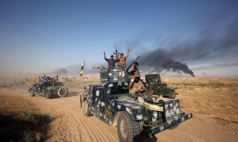 تمكنت القوات العراقية من تحرير مدينة الكرمة بالكامل من تنظيم «داعش»