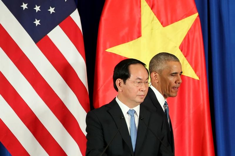 شدد أوباما على متانة العلاقات بين الولايات المتحدة وفيتنام