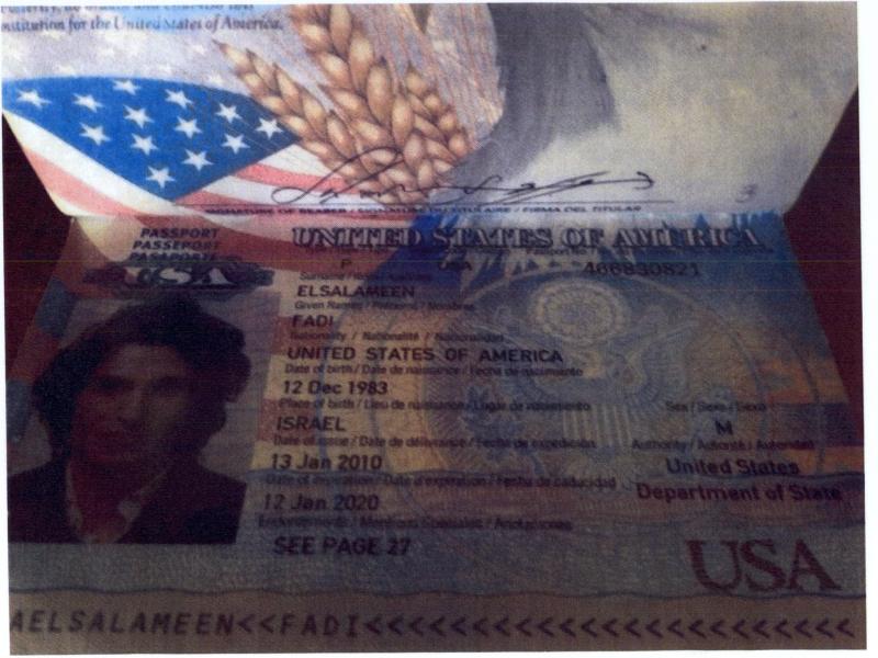 جواز السفر الأميركي الخاص بالسلامين