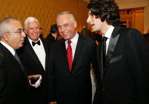 مع رئيس الوزراء الفلسطيني السابق سلام فياض