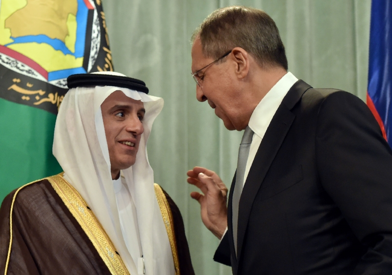 لافروف: تداخل فصائل معارضة مع الإرهابيين يعقد عملية مكافحة الإرهاب (أ ف ب)