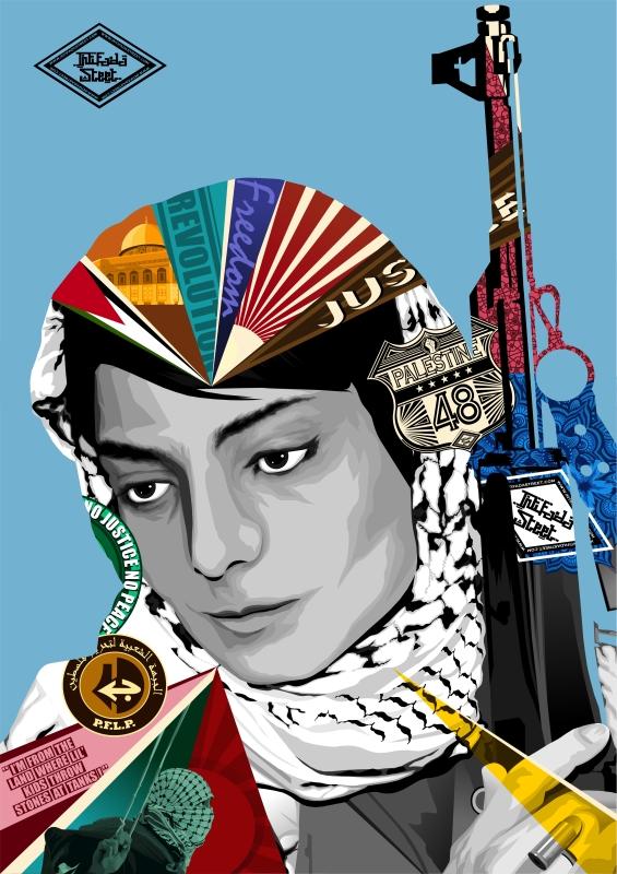 من اعمال الفنان البريطاني محمد حمزة
