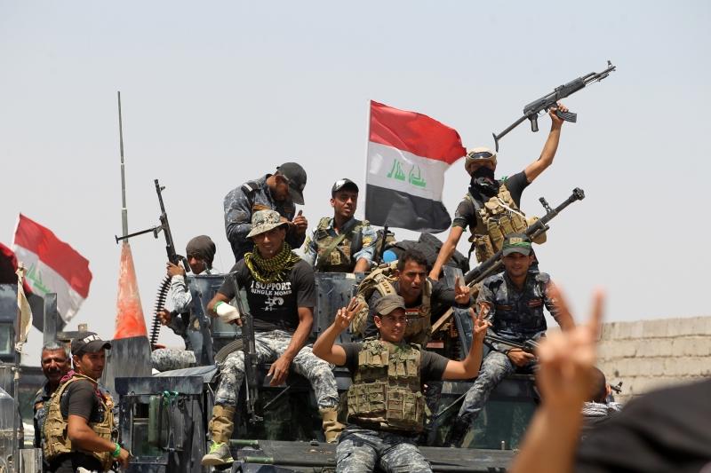 تمكنت القوات العراقية المشتركة من تحرير منطقتي الصقلاوية والنعيمية