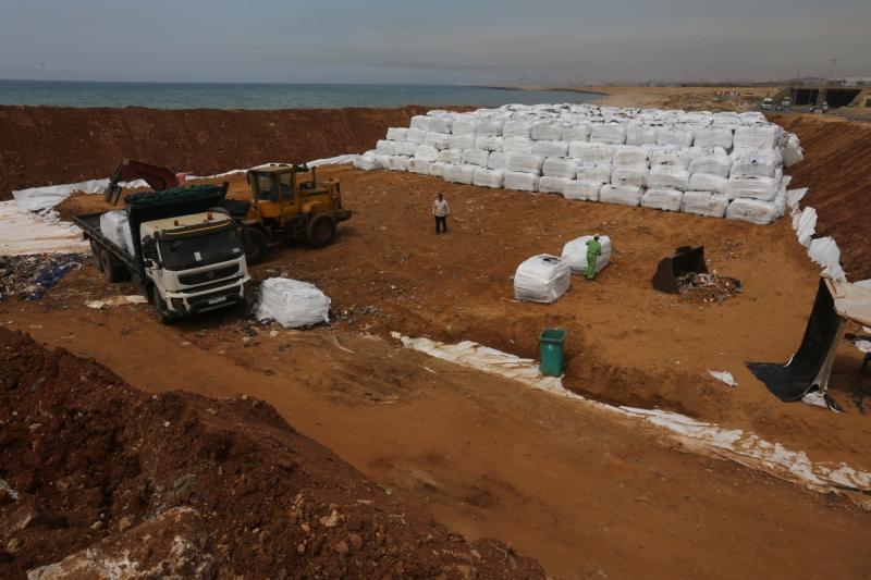 الفرز الأوّلي الذي يجري حالياً يخفف 7% فقط من حجم النفايات (مروان طحطح)