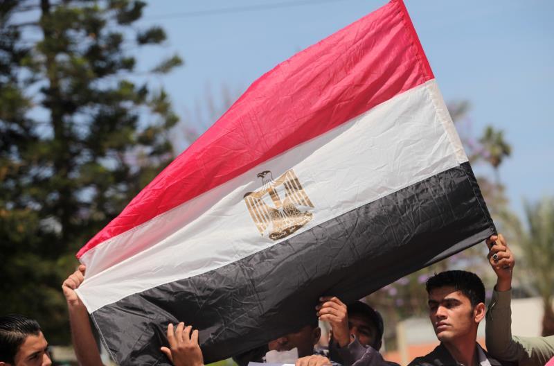 من مسيرة تطالب بفتح معبر رفح (آي بي ايه)