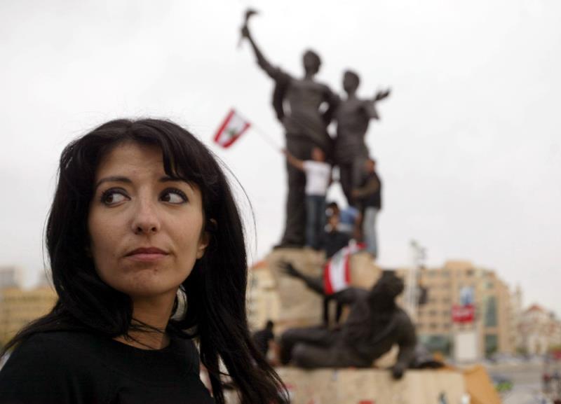 من «يوميات بيروت»»  لجان شمعون ومي المصري