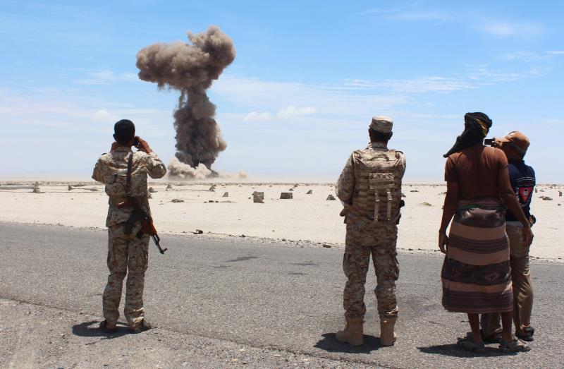 انسحبت القوات الخاصة الاميركية من اليمن عشية العدوان السعودي في آذار 2015 (أ ف ب)