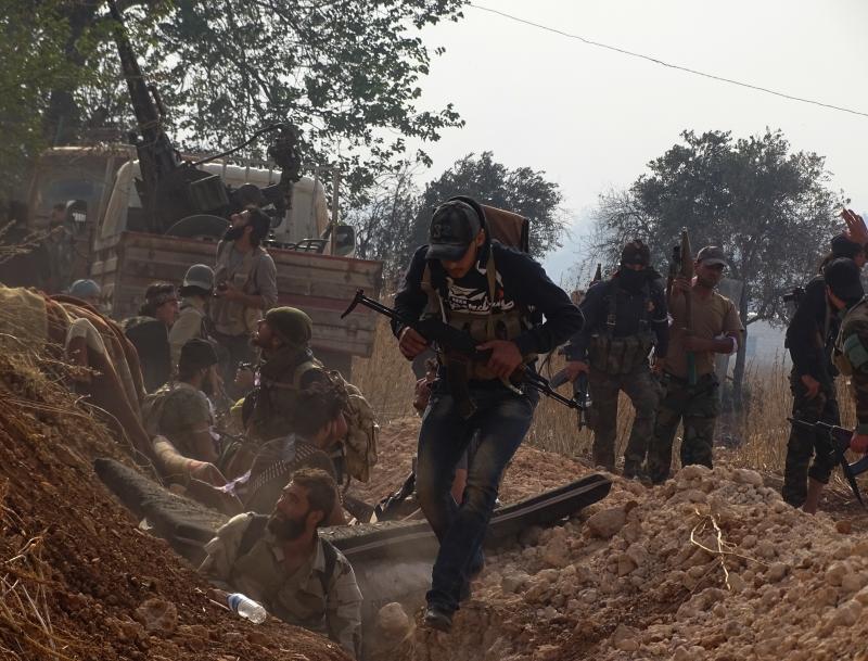 مدينة منبج «بحكم المناطق المحررة»، وبمشاركة قوات فرنسية