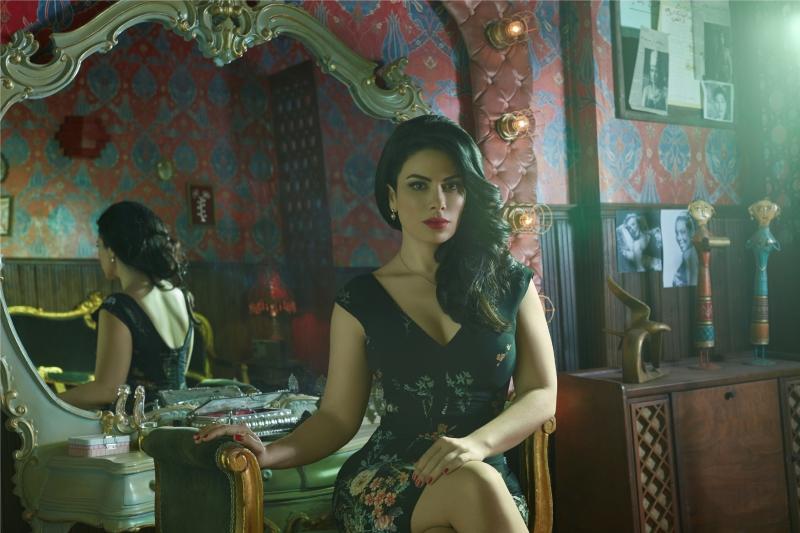 صبا مبارك في مشهد من المسلسل