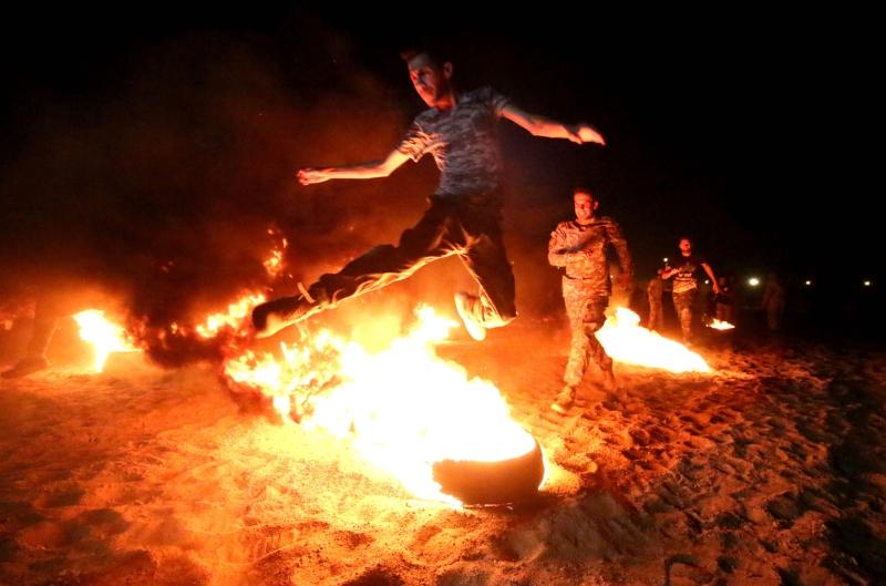أعلنت «فرقة العباس» استعدادها للمشاركة في عملية تحرير الموصل (أ ف ب)