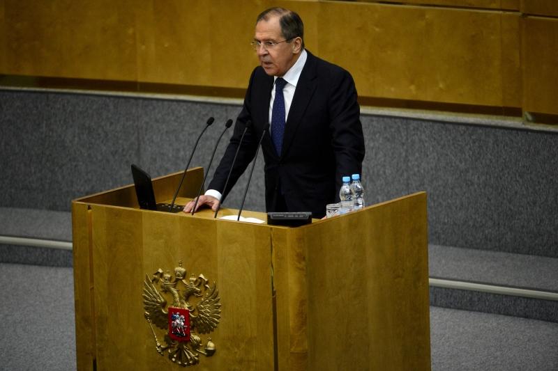 لافروف: ثمة رغبة لتقويض موقع روسيا كمنافس (أ ف ب)