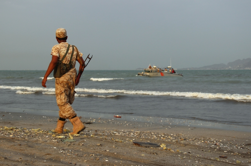 تعرضت القوات الاماراتية لخسائر كبيرة في اليمن  (أ ف ب)