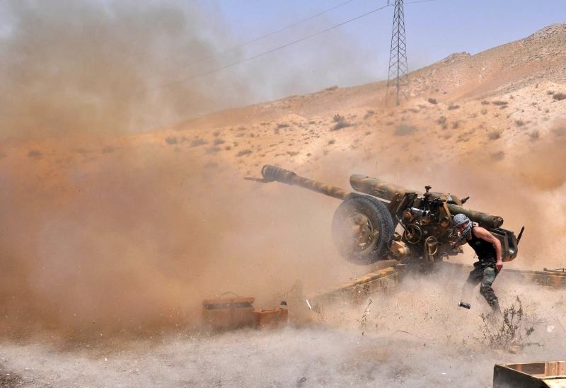 تستعد دمشق لإطلاق «معركة دير الزور» بمشاركة موسكو وطهران وحزب الله (أ ف ب)