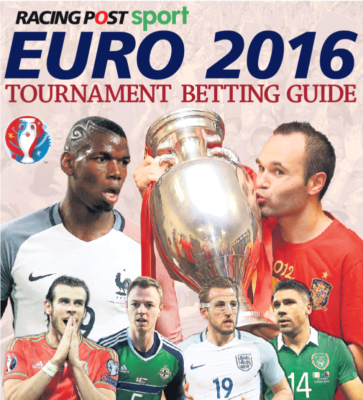 كتاب ارشادات للمراهنين في كأس اوروبا (إنترنت)