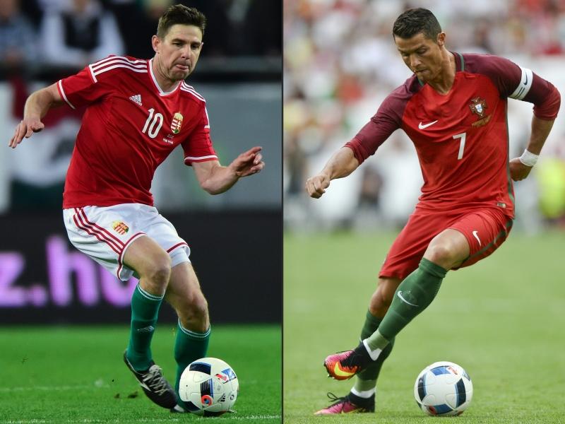 تفوّقت البرتغال على المجر في المباريات الخمس التي جمعت بينهما سابقاً (أ ف ب)