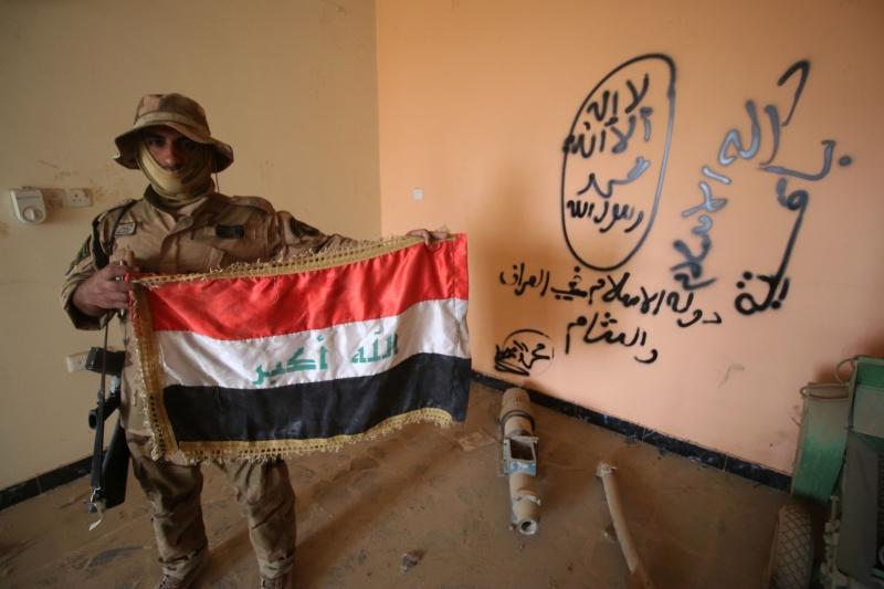 قد يُعلن في الأيام المقبلة عن انتهاء العمليات العسكرية في الفلوجة (أ ف ب)