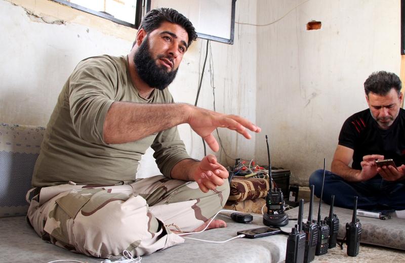 شرعت «الموك» في تشكيل غرفة عمليات داخل الأراضي السورية (الأناضول)