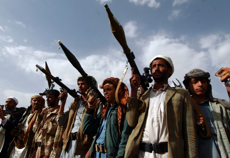 تؤدي مجموعات حزب «الاصلاح» الدور الأبرز في معارك شرقي صنعاء (أ ف ب)