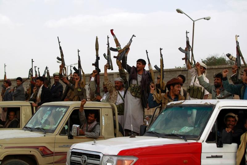 جاء التقدم باتجاه قاعدة العند فيما كانت السعودية وحلفاؤها يتجهزون لعملية «تحرير صنعاء»  (أ ف ب)