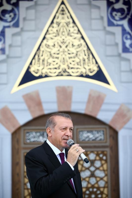 تساءل الرئيس التركي عن أسباب «المماطلة» الأوروبية (الأناضول)