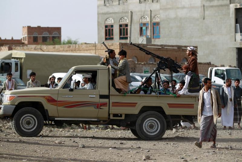 أسفرت الغارة عن مقتل وجرح نحو 45 مسلحاً (أ ف ب)