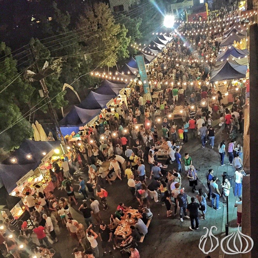 إستقطب «سوق الأكل» العام الماضي في برمانا 40 ألف شخص