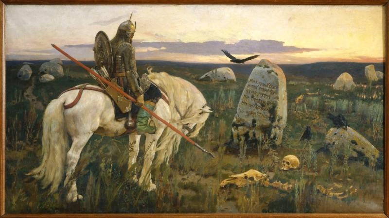 موسى بن أبي غسان  بريشة الروسي فيكتور فاسنيتسوف